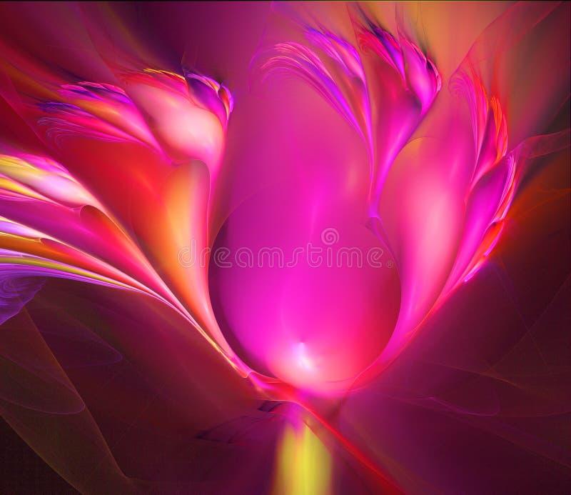 Tulipán de Flamin stock de ilustración