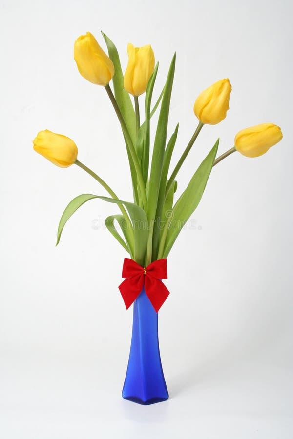 Tulipán del ramo foto de archivo