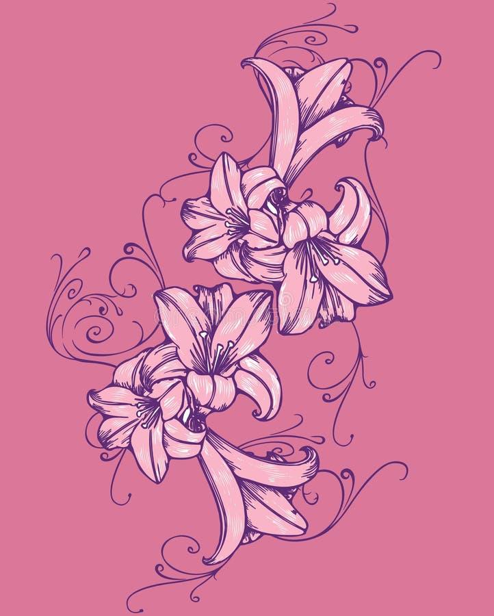 Tulip ilustração stock