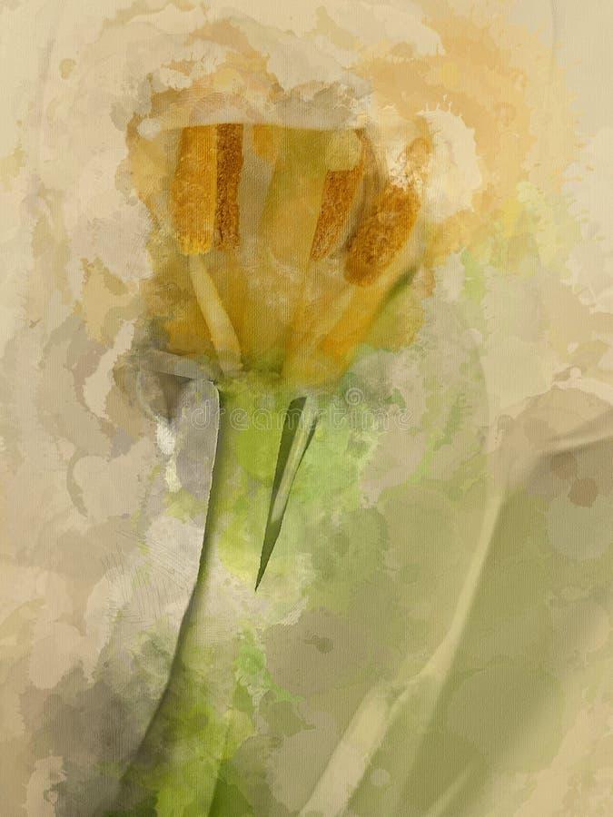 Tulip Abstract vektor illustrationer