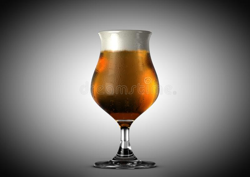 Tulip Beer Pint vektor abbildung