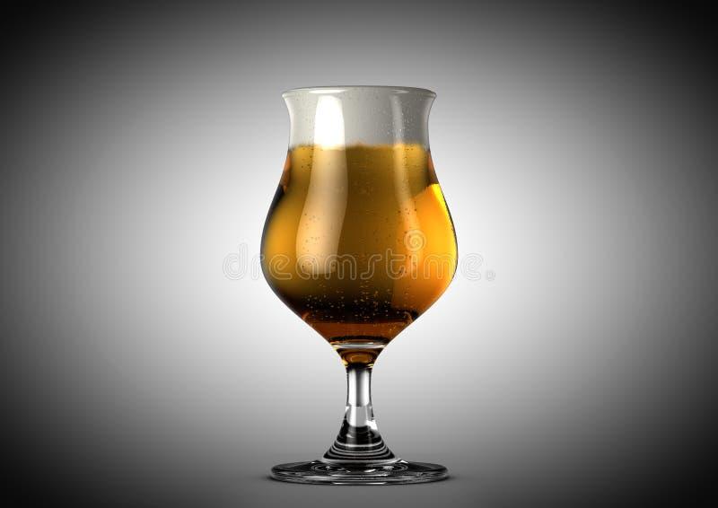 Tulip Beer Pint stock abbildung