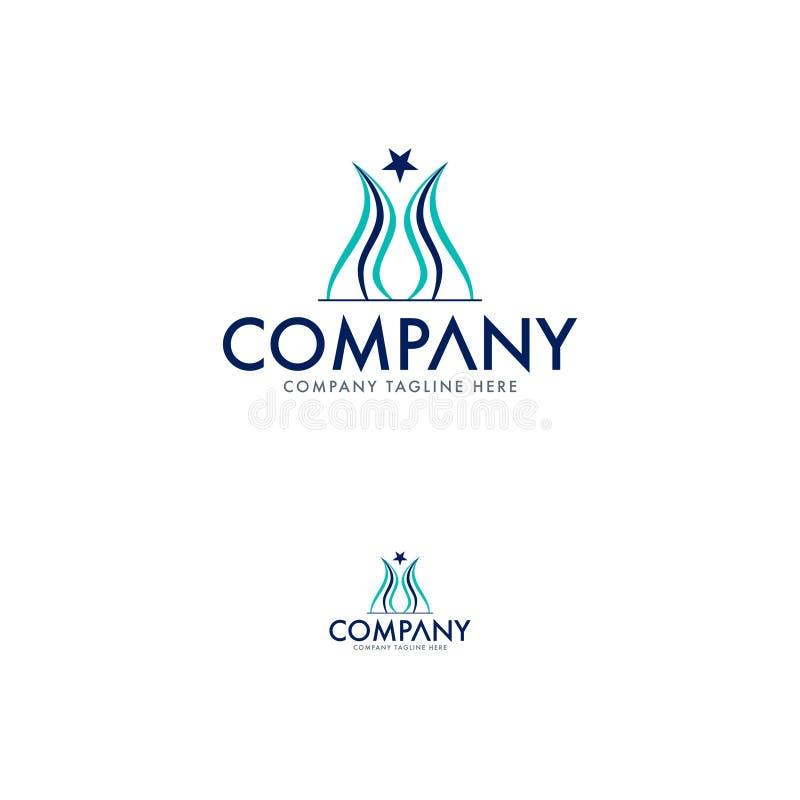 Tulip Logo Design Template criativa ilustração royalty free