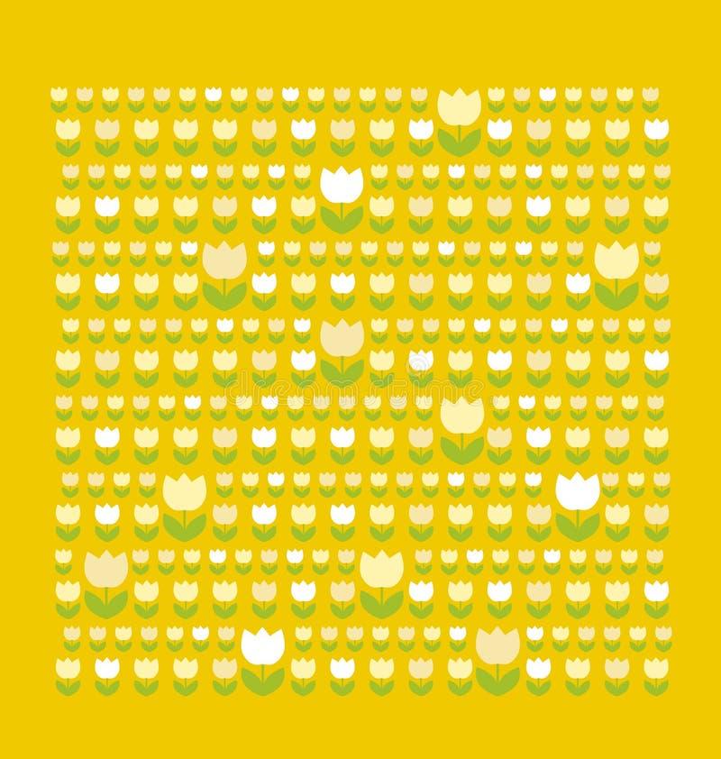 Tulip Pattern Stock Photo