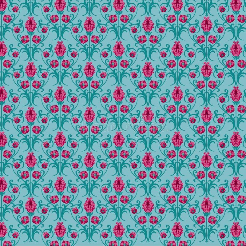 Download Tulip pattern stock vector. Illustration of wallpaper - 23732364