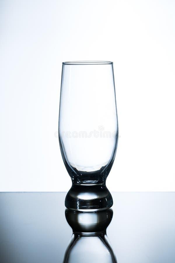 Tulip Shaped Pint Glass imagens de stock