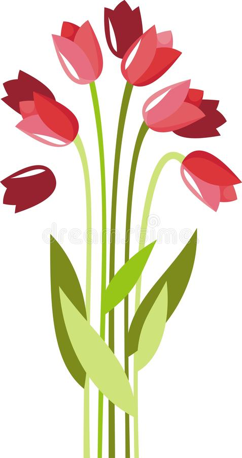 Tulipani royalty illustrazione gratis
