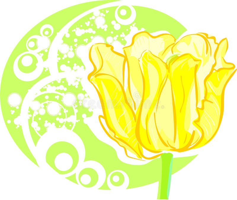 Tulipe illustration stock