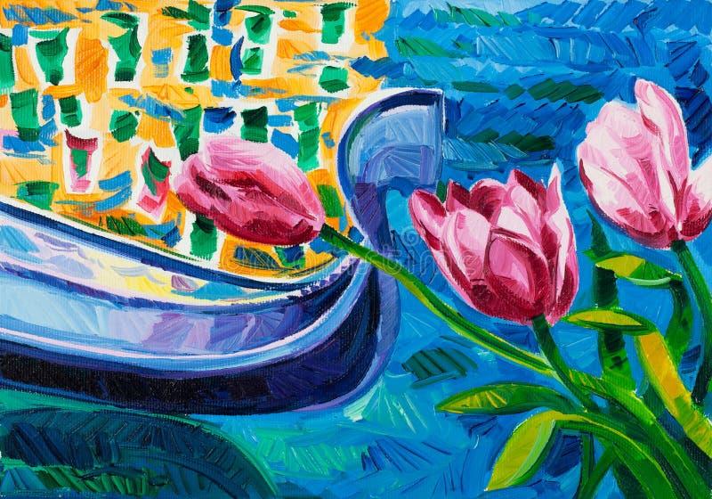 Tulipes illustration stock
