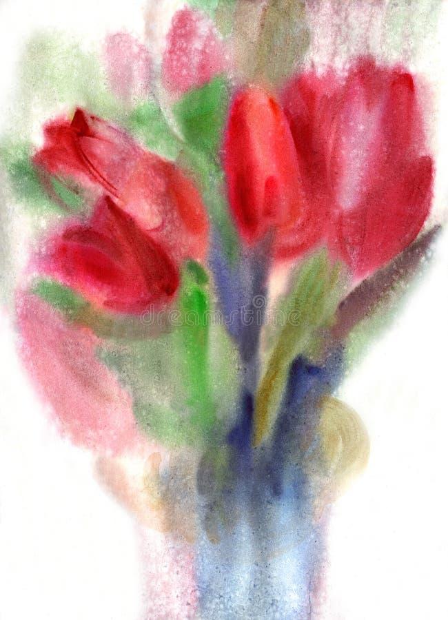 Tulips ilustração do vetor