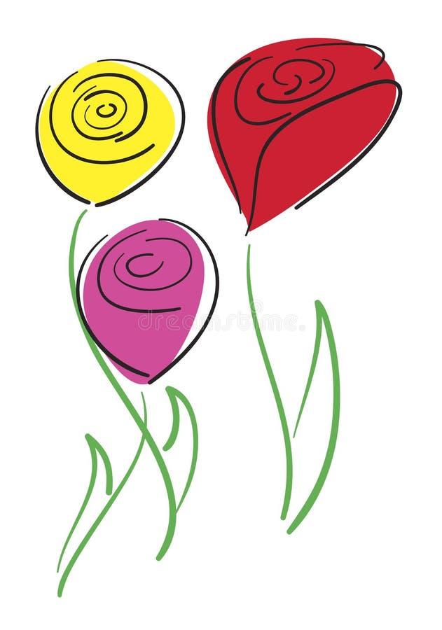 Free Tulips Royalty Free Stock Image - 1651116