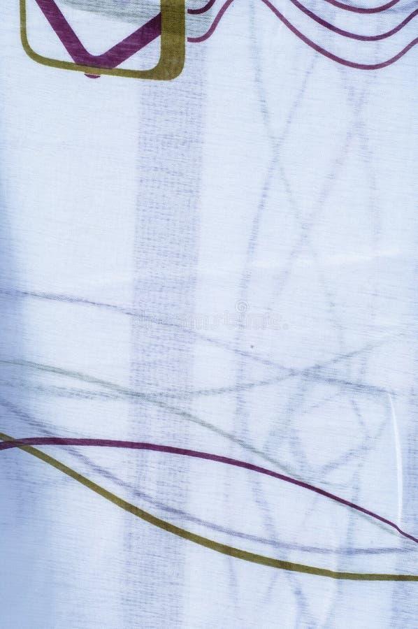 Tulle, bobine-filet, bobbinet, illusion une soie molle et fine, coton photos libres de droits