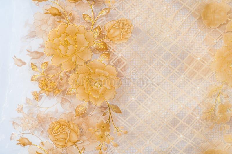 Tulle, bobine-filet, bobbinet, illusion une soie molle et fine, coton photographie stock