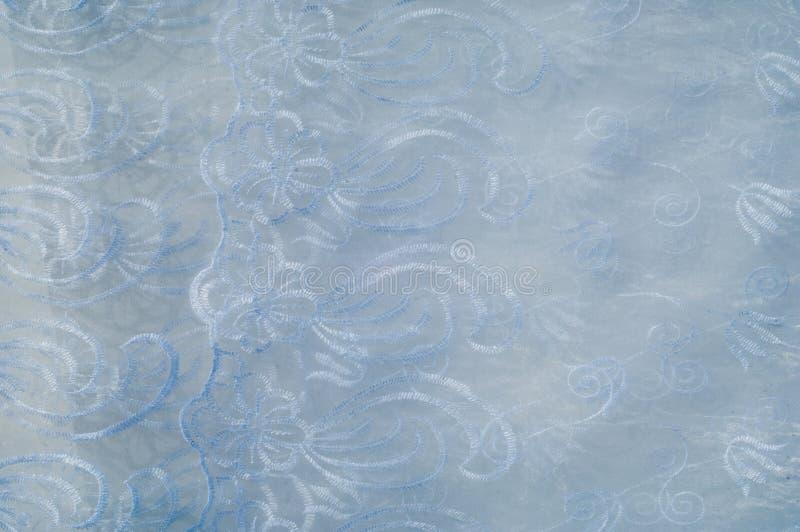 Tulle, bobine-filet, bobbinet, illusion une soie molle et fine, coton image stock