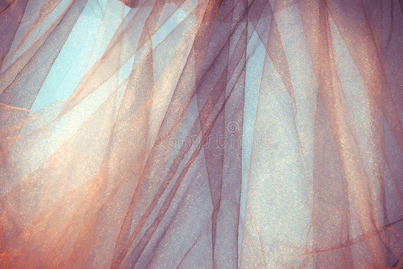 Tulle-Hintergrund stockfotografie
