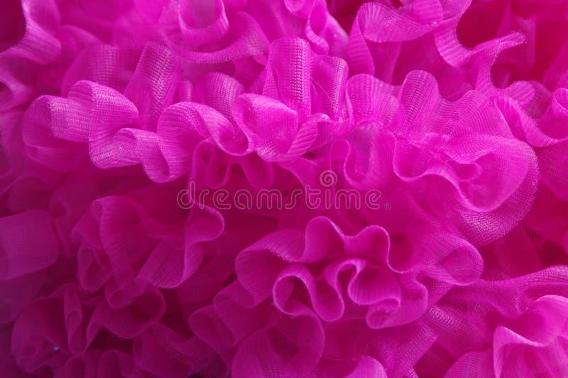 Tulle rosada foto de archivo