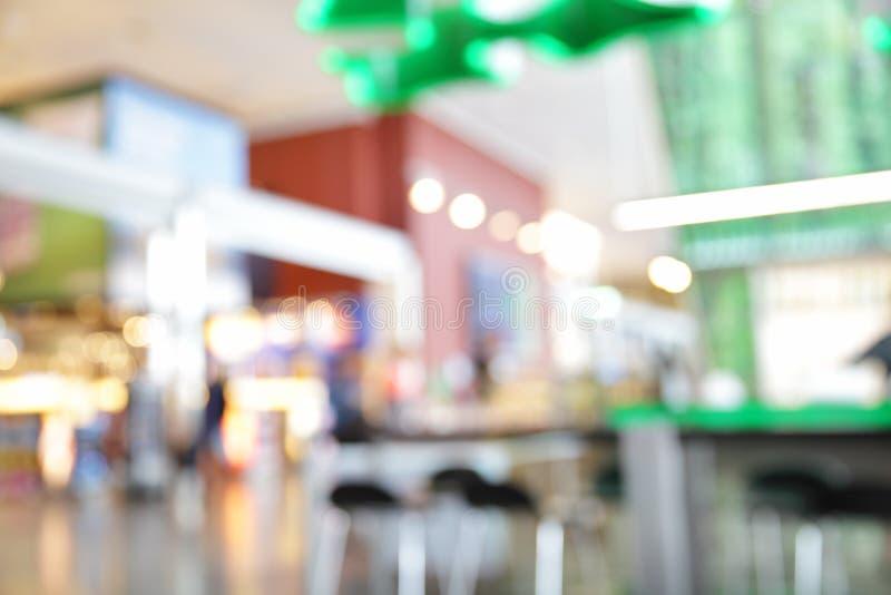 Tullfritt shoppar och kaféer fotografering för bildbyråer