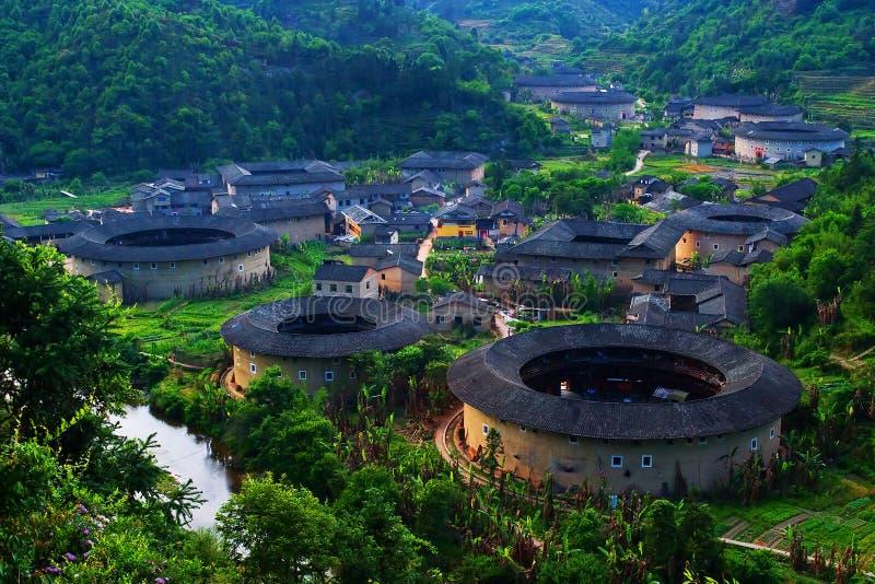 Tulou Fujian immagine stock