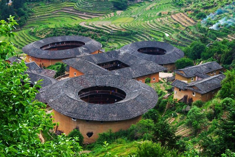 Tulou Fujian image stock