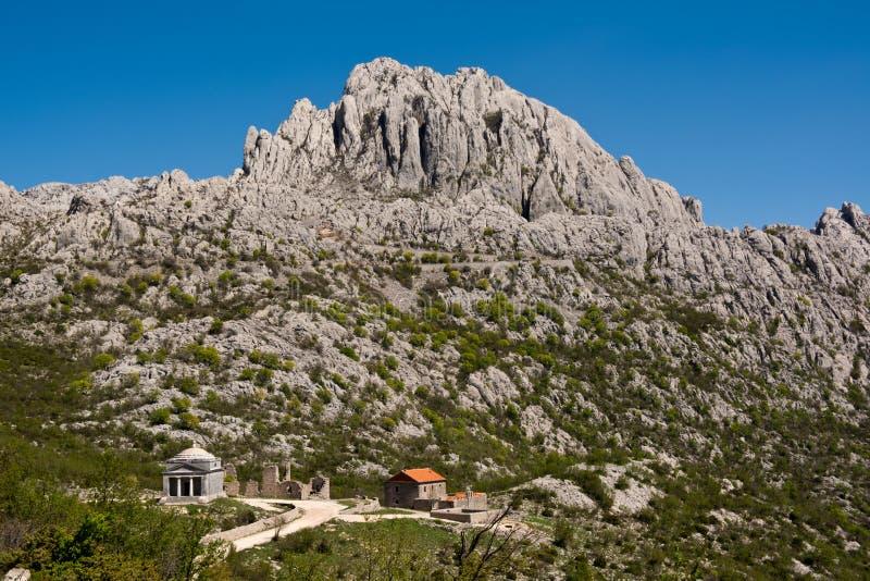 Tulove Grede, Kroatien royaltyfri fotografi