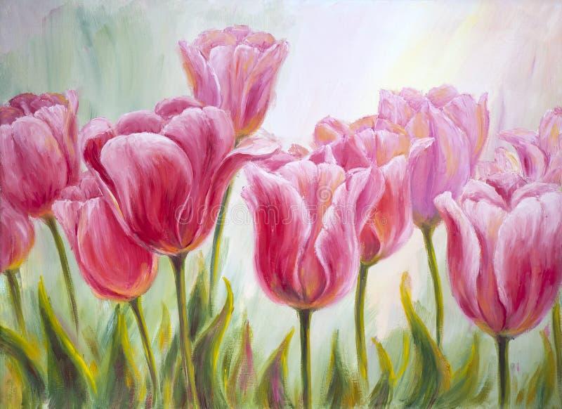 Tulpen vector illustratie