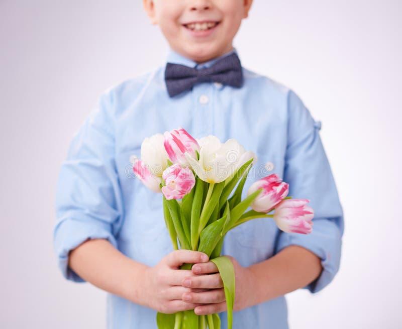 Tulpen voor mamma royalty-vrije stock foto