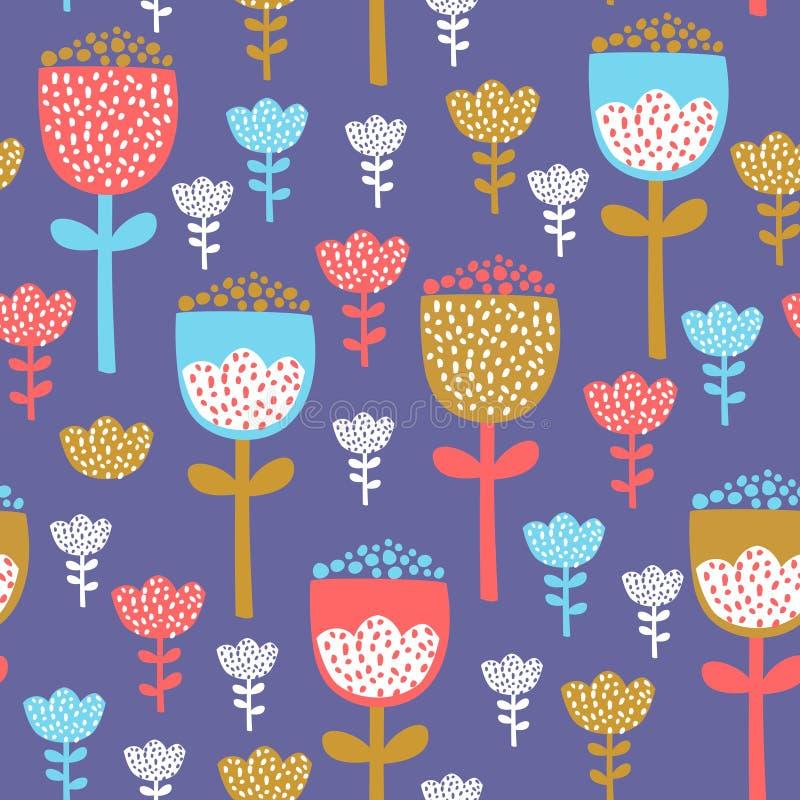 Tulpenmusterdesign stockfoto