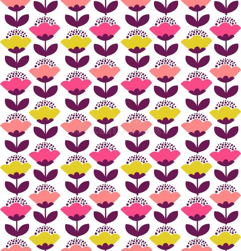 Tulpenmusterdesign stockfotografie