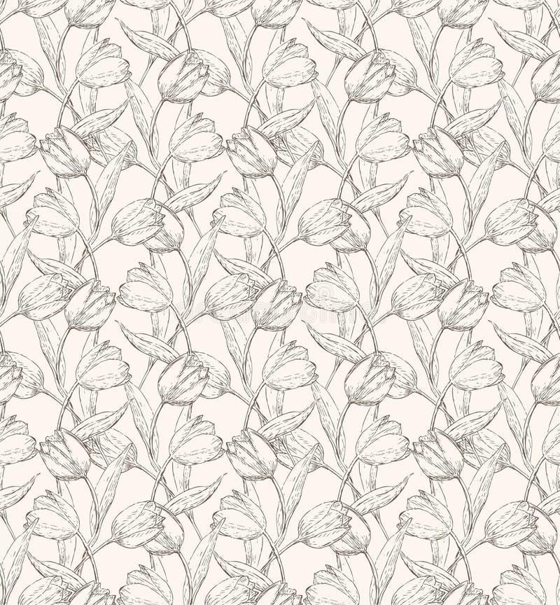 Tulps-Muster 1 Stockfotografie