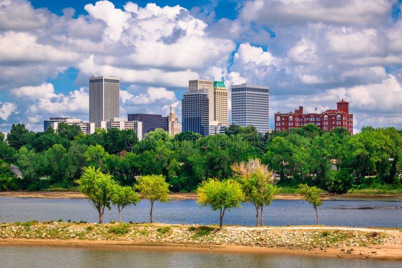 Tulsa, Οκλαχόμα, ΗΠΑ στοκ φωτογραφίες με δικαίωμα ελεύθερης χρήσης