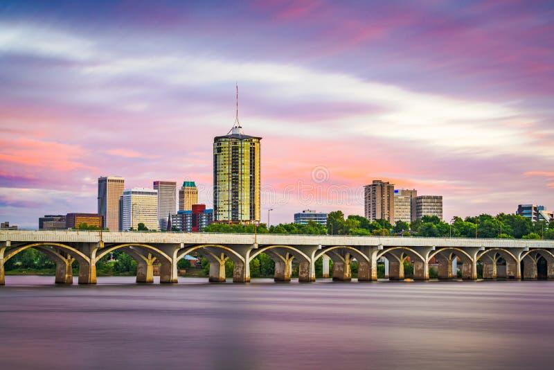 Tulsa, Οκλαχόμα, ΗΠΑ στοκ εικόνα