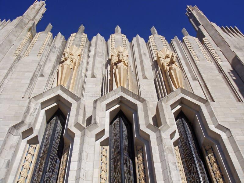 Tulsa Art Deco royalty free stock photo