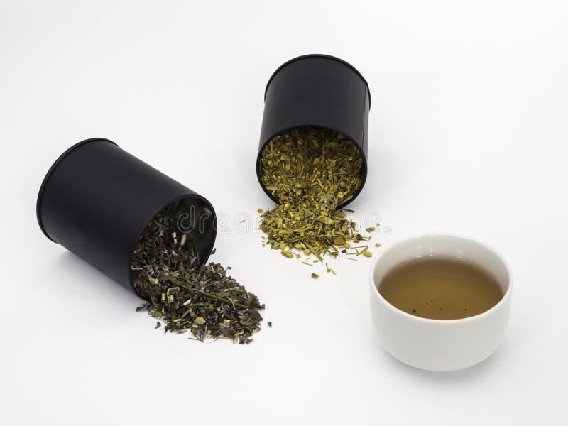 Tulse och Ginger Turmeric Herbal Tea arkivfoton