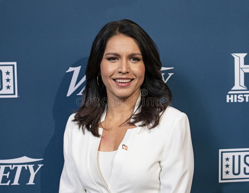 Tulsi Gabbard at the Variety 3rd Annual Salute Event. stock photography