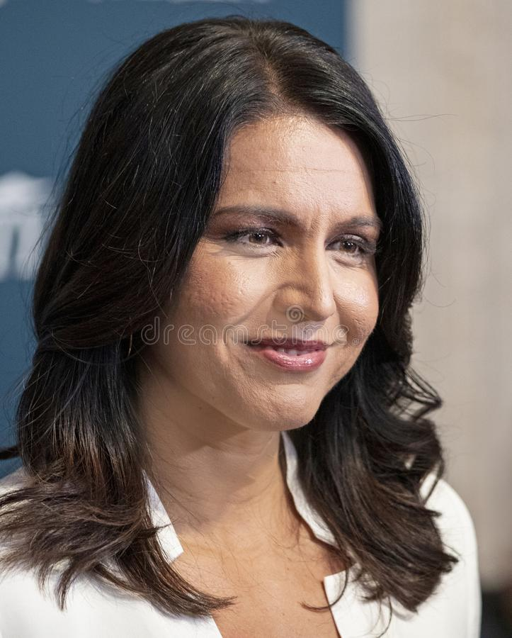 Tulsi Gabbard at the Variety 3rd Annual Salute Event. stock photos
