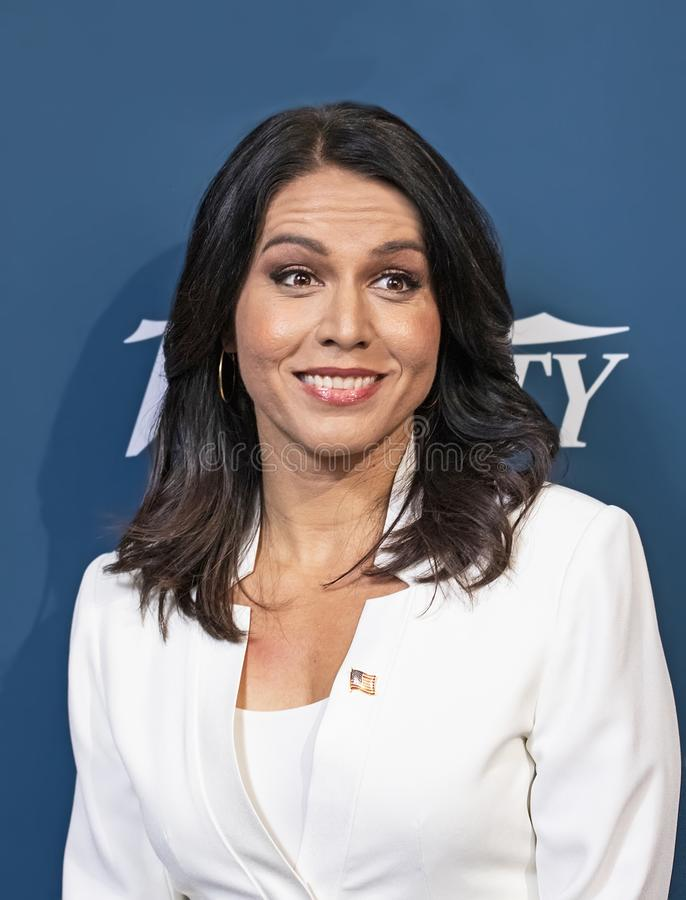 Tulsi Gabbard at the Variety 3rd Annual Salute Event. stock photo
