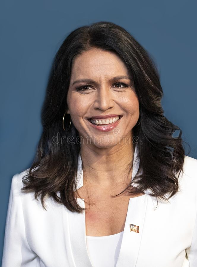 Tulsi Gabbard at the Variety 3rd Annual Salute to Service royalty free stock photo