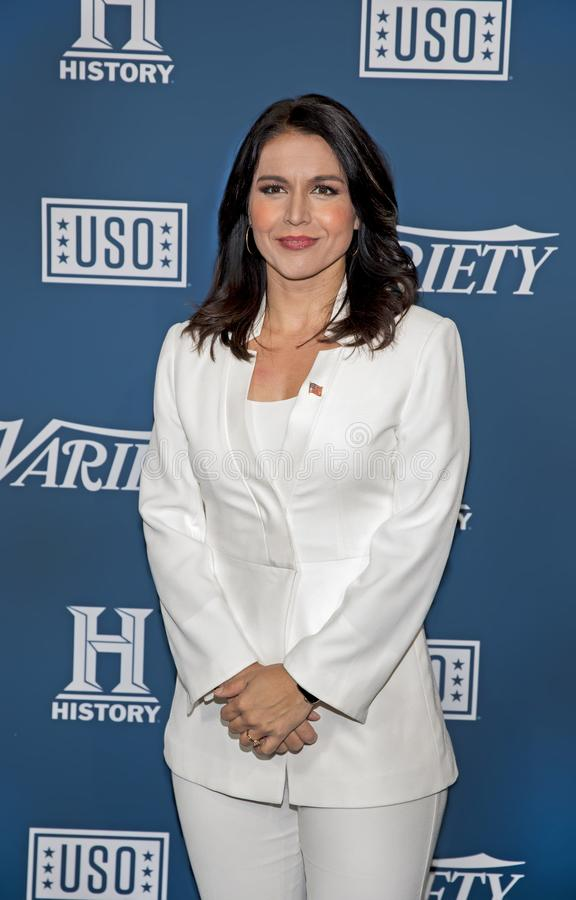 Tulsi Gabbard at Variety 3rd Annual Salute to Service stock photos