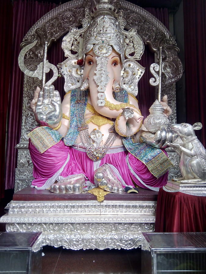 Tulsibagh Ganapati stock photo
