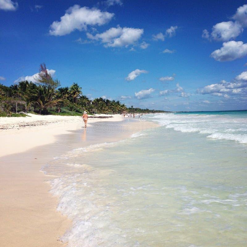 Tulum Beach Editorial Stock Photo. Image Of Sand, White