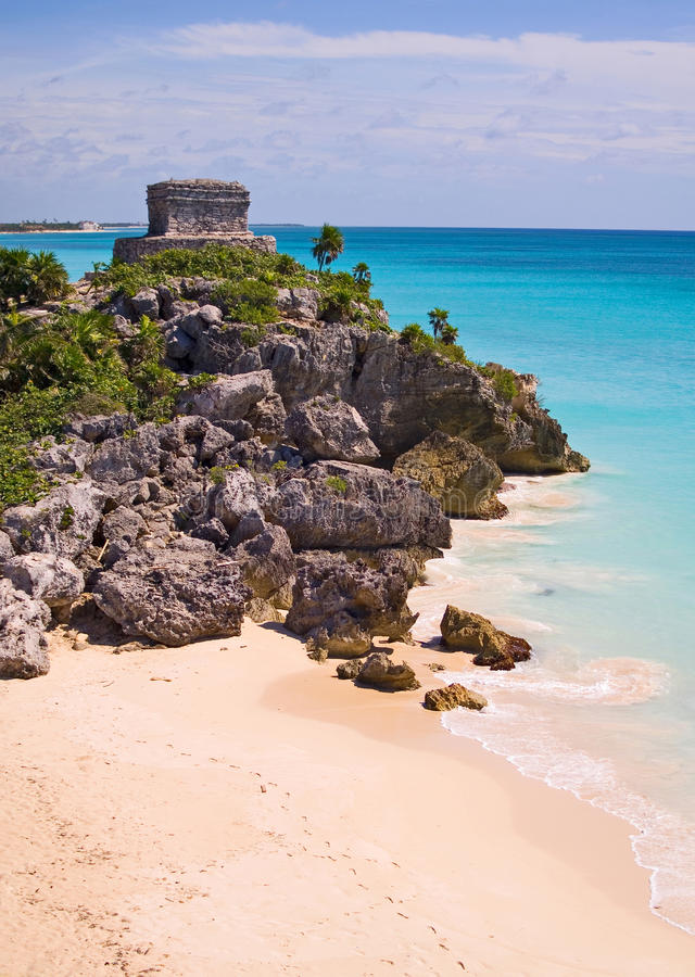Download Tulum stock photo. Image of mexico, archaeological, place - 33346054