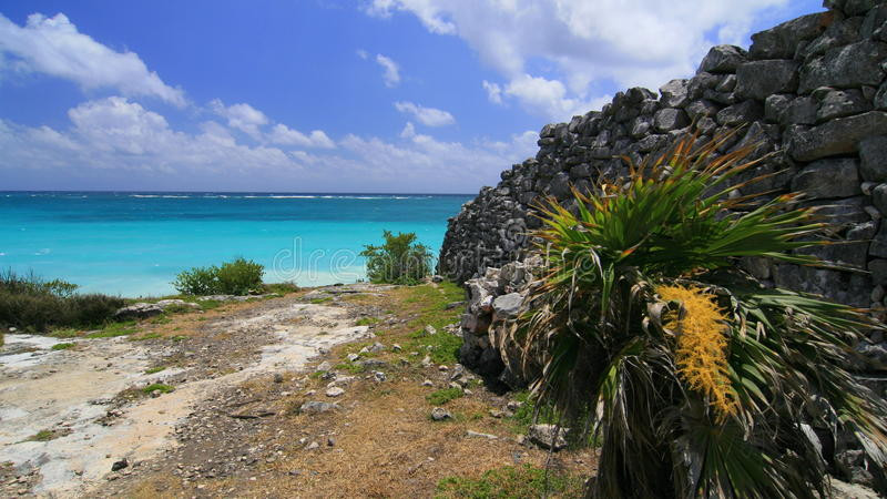 Download Tulum, Mexico stock photo. Image of historical, azure - 23402992