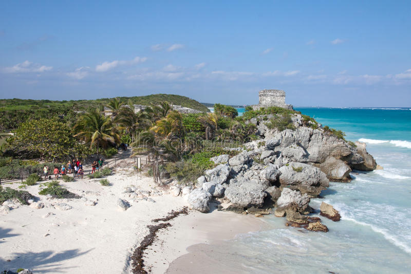 Download Tulum, Mexico editorial photography. Image of ruins, exotic - 38702752