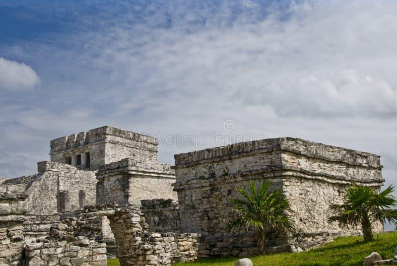 Tulum Mexico ruins royalty free stock photos