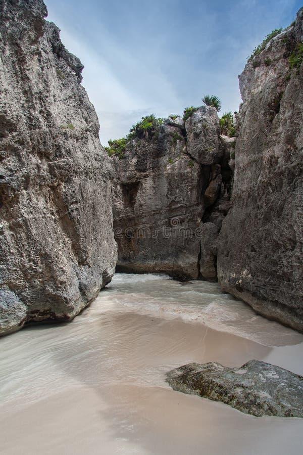 Tulum Plażowy Jukatan Meksyk fotografia royalty free