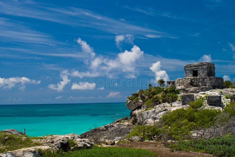 Tulum ruins stock photos