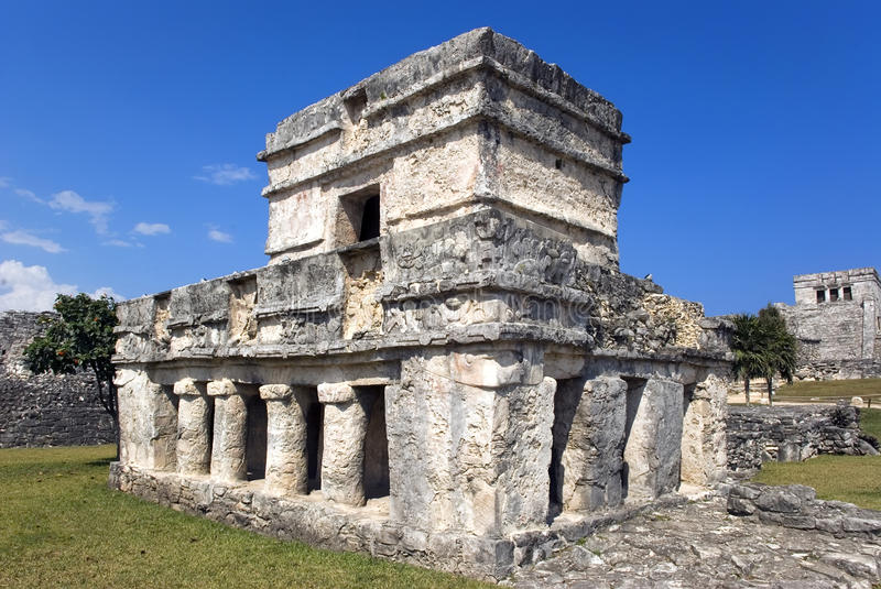 Download Tulum Ruins stock image. Image of stairs, ocean, archeology - 9953193