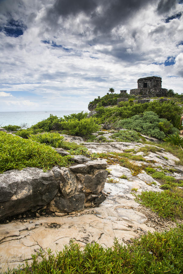 Download Tulum ruins stock image. Image of cult, vacations, beautiful - 36034663