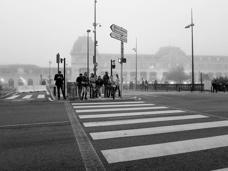 Tuluza ulicy scena zdjęcie royalty free