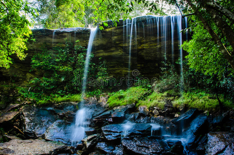 Download Tum So-nor Waterfall, Tham So Nuea Waterfall, Flowing Water, Fal Stock Image - Image: 33250277